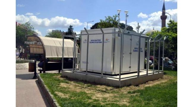 Turgutlu'ya hava kalitesi ölçüm istasyonu kuruldu