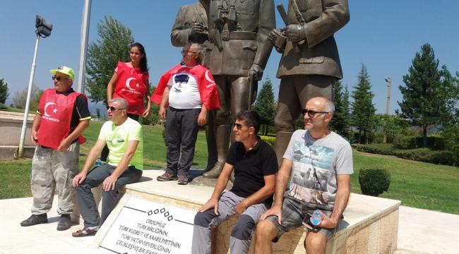 Turdaklılar; Kocatepe Zafer Yürüyüşünü 8. Kez Gerçekleştirdiler.