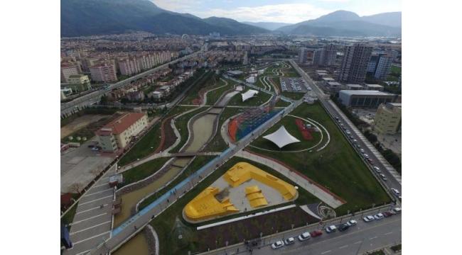 Atatürk Kent Parkı uluslararası ün kazandı