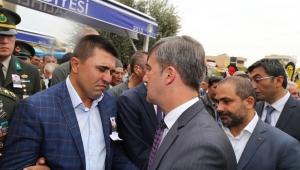 Başkan Şehit Ateşinin Düştüğü Alaşehir ve Salihli'de