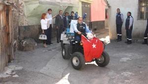 Dar sokaklarında ATV hizmet verecek