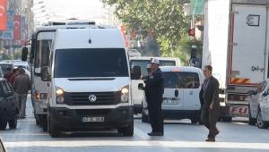 Servis minibüsçüleriden J plaka protestosu