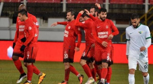 Akhisar Belediyespor - Ümraniyespor: 0- 1 (Ziraat Türkiye Kupası)