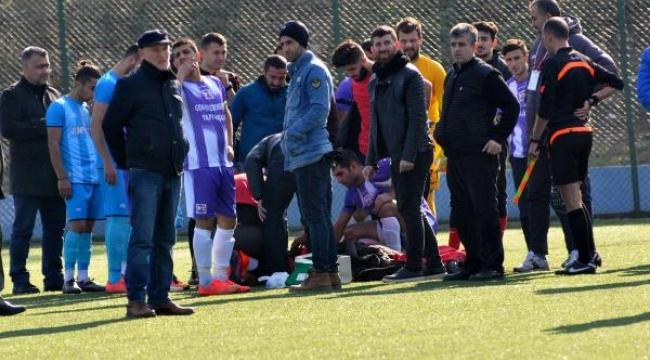 Maçta dili döndü antrenörü hayatını kurtardı