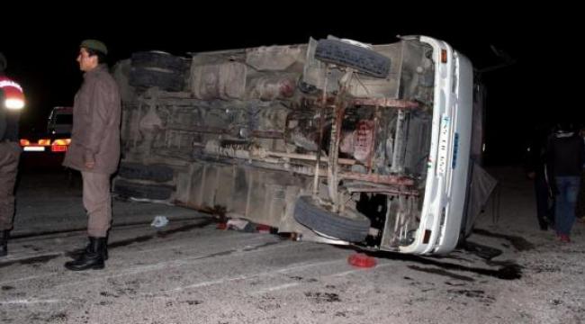 Zincirleme kaza: 21 yaralı
