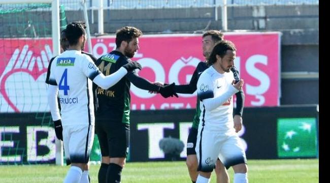 Akhisar Belediyespor-Çaykur Rizespor: 1-0