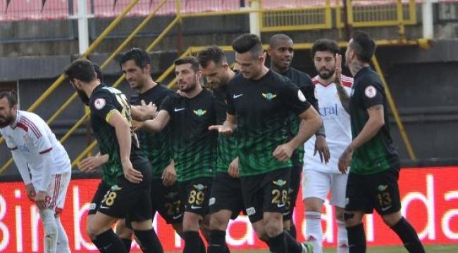 Akhisar Belediyespor-Gümüşhanespor: 3-1 (Ziraat Türkiye Kupası)