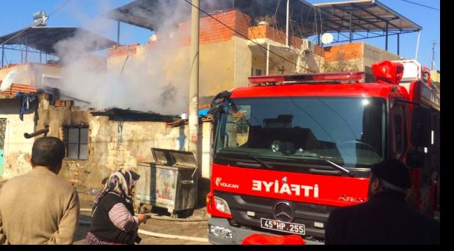 Suriyeli ailenin kaldığı evde yangın: 5 kişi etkilendi