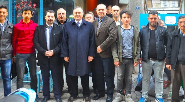 MHP'li Akçay Turgutlu'da