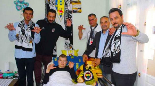 Fenerbahçeli gencin tedavi masraflarını Beşiktaşlılar üstlendi
