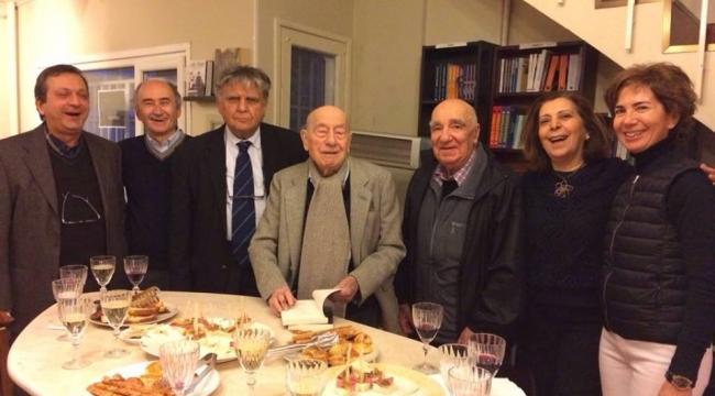 'Yaşayan tarih' Cahit Kayra 101 yaşında!