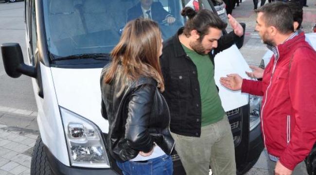 YSK protestosunda CHP'liler arasında gerginlik