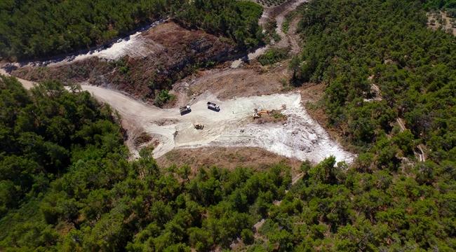 Belenyenice Göleti ve Sulaması Projesi'nde