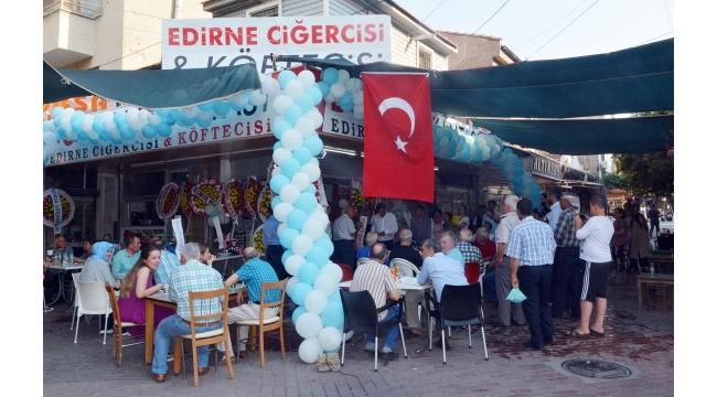 Edirne Ciğercisi Bosna Lokantası açıldı