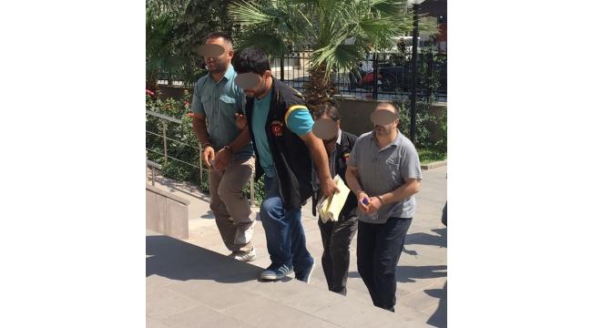 FETÖ'den 4 tutuklama, 5 adli kontrolle serbest, 6 adliyeye sevk