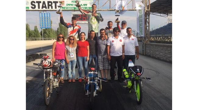 Turgutlulu motorcu Nişli rekora imza attı