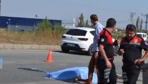 Otomobil takla attı: 1 ölü 1 yaralı