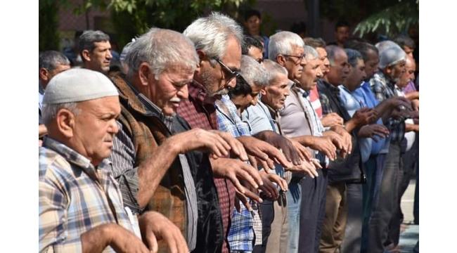 Turgutlu'da yağmur duası