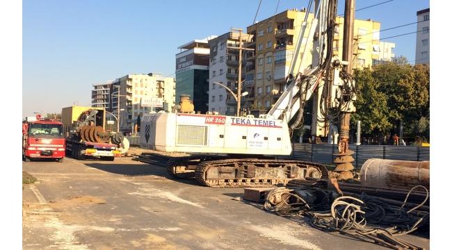 Karayolunda doğalgaz ana hattı patladı, trafik kilitlendi!