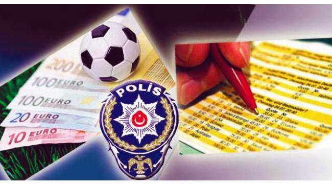 Turgutlu'da yasa dışı bahis operasyonu