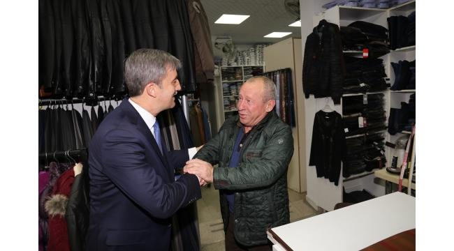 Başkan Şirin vatandaşların sorularını yanıtladı