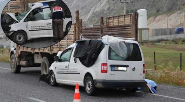 Manisa Turgutlu Karayolu üzeri 1 ölü, 1 ağır yaralı