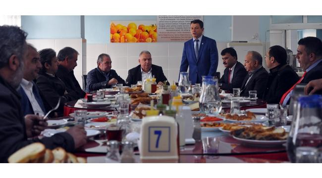 Oda başkanlarından Halil Kale Fen Lisesi'ne tam destek