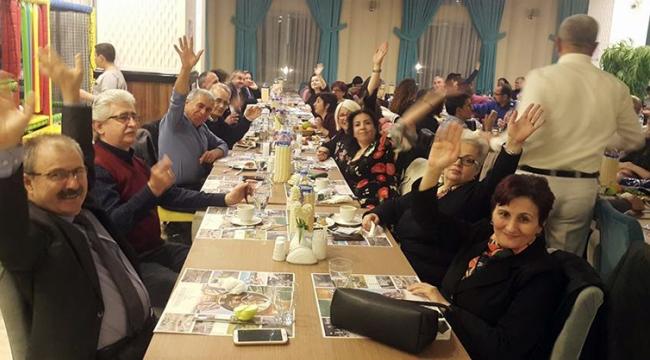 Turdak 14. kuruluş yıldönümünü erken yılbaşıyla kutladı
