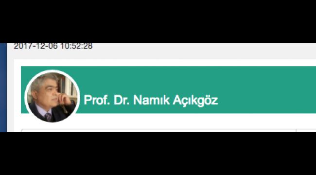 Turgutlu'dan yetişmiş bir uçak profesörü; Ahmet Nuri Yüksel