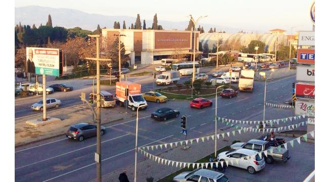 Ergenekon Mahallesi'ne battı çıktılı kavşak