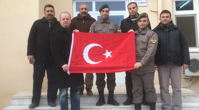Urganlı'da 'Zeytin Dalı' Harekatına destek