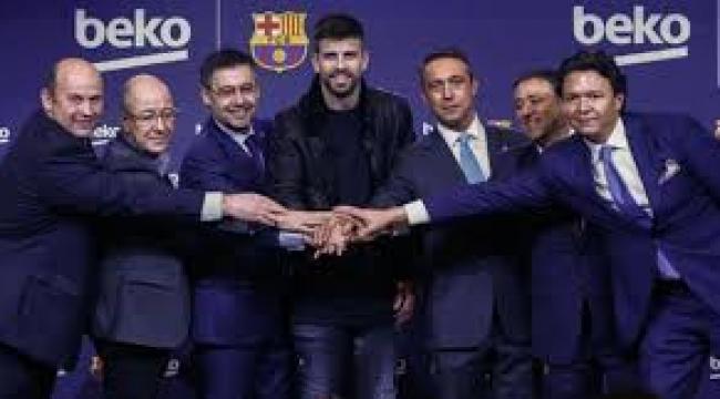 Beko, Barcelona'nın En Büyük Sponsoru Oldu, İmzayı Ali Koç Attı