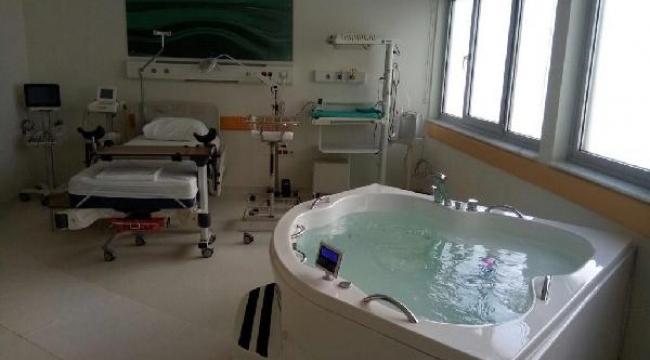Devlet Hastanesi'ne suda doğum ünitesi açılıyor