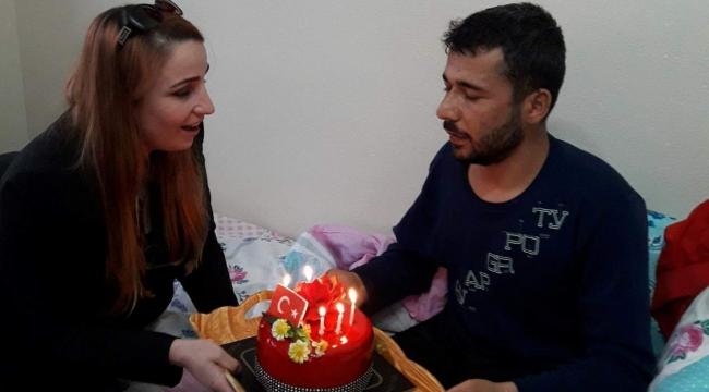 İYİ Parti'den Gazi Yıldız'a doğum günü sürprizi