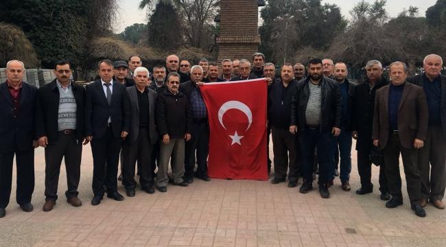 Muhtarlardan Afrin'deki Mehmetçikler için yardım kampanyasına davet