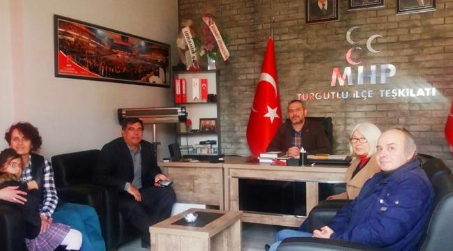 TURÇEP'in odalar ve siyasi partilerle görüşmeleri devam ediyor