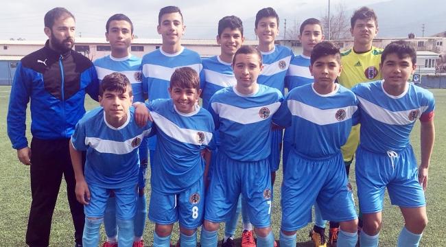 Turgutluspor U14 Manisa şampiyonu oldu