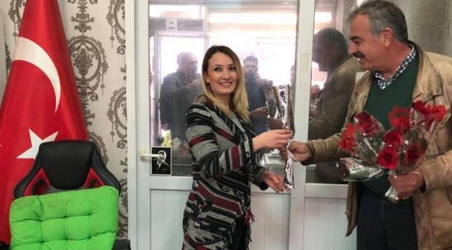 Başkan Laleseven kadın üyelerini unutmadı