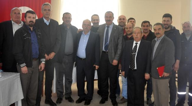 KSS'de Hasan Yaman ve yönetimi güven tazeledi