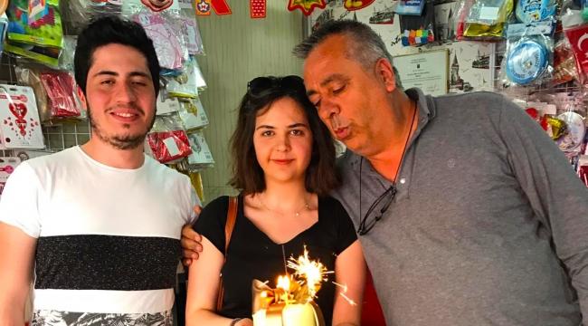 Babaya doğum günü sürprizi