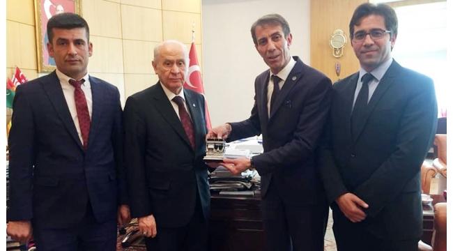İşadamı Hüseyin Şentürk MHP'den aday adayı!
