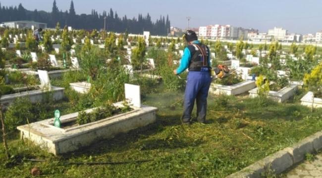 Turgutlu'da Mezarlıklara Bakım