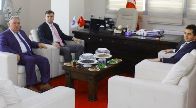 TUTSO Başkanı Aydın'a ziyaretler devam ediyor