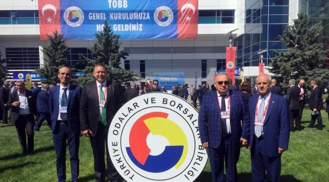 Başkan Aydın TOBB konseyine seçildi