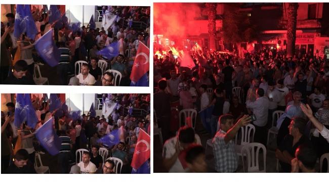 AK Parti'de kutlamalar VİDEO