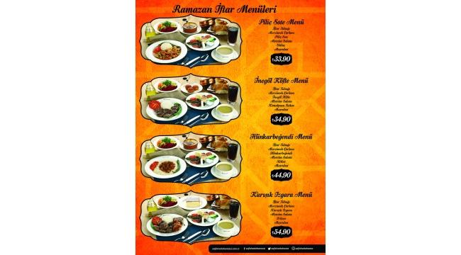 Safahat Lokantası'nda Ramazan'ın eşsiz maneviyatını sevdiklerinizle paylaşın