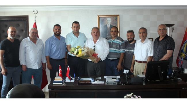 TUTSO'dan Emniyet Müdürü Parıldar'a 'hayırlı olsun' ziyareti