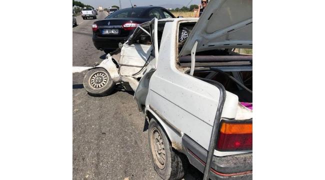 Zincirleme kaza: 1 ölü, 1 yaralı