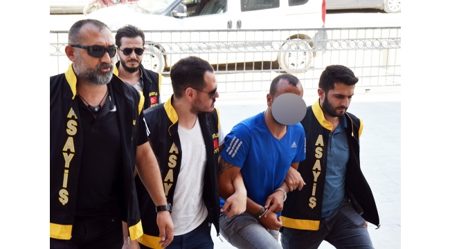 Müteahhidin 60 bin lirasını gasp eden zanlı tutuklandı