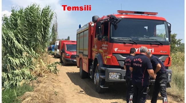 Çampınar'da motosiklet kanala uçtu 1'i ağır 2 yaralı